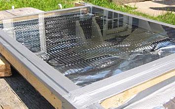 Pannelli solari casa: Pannello solare per acqua calda fai da te