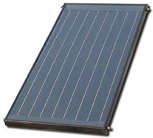 Pannelli solari termici vetrati ad acqua o aria a tubi for Pannelli solari per acqua calda ultima generazione