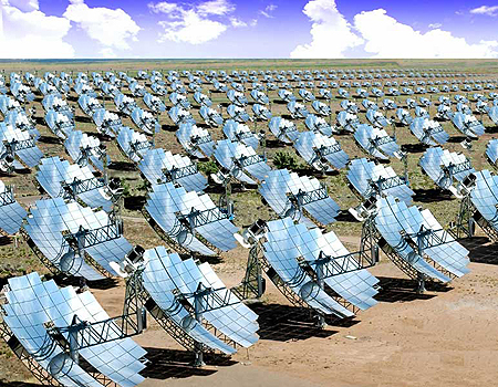 Il solare a concentrazione termodinamico i migliori - Specchi riflettenti luce solare ...