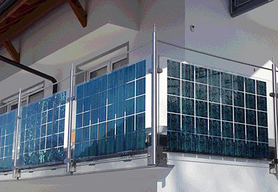 Il fotovoltaico integrato nelle facciate finestre e vetrate degli edifici consulente energia com - Vetri fotovoltaici per finestre ...