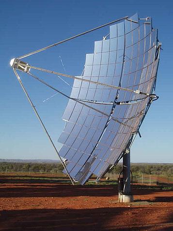 Concentratori fotovoltaici ad alta concentrazione - Specchi riflettenti luce solare ...