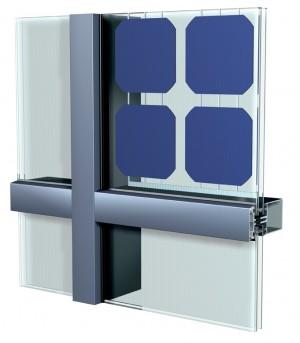 Coperture trasparenti con vetri fotovoltaici coperture semitrasparenti con vetro fotovoltaico - Vetri fotovoltaici per finestre ...