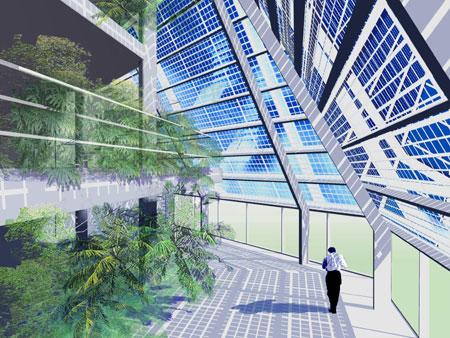 Terzo conto energia e impianti fotovoltaici integrati negli edifici con caratteristiche o - Vetri fotovoltaici per finestre ...