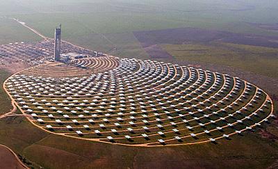 Il solare a concentrazione termodinamico i migliori impianti a parabole lineari sistemi a - Centrale solare a specchi ...