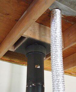 Come riscaldare piu 39 stanze con una stufa canalizzazione - Canalizzazione aria calda stufe a pellet ...