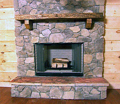Come autocostruire un caminetto fai da te istruzioni e for Come costruire una cabina di pietra