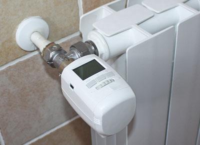Valvole termostatiche programmabili caleffi