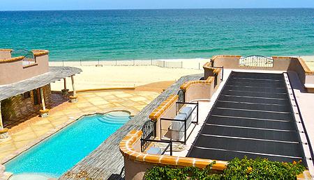 Come riscaldare una piscina con i pannelli solari termici - Costo manutenzione piscina ...