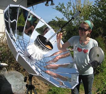 Come costruire un barbecue solare fai da te istruzioni - Scaldabagno solare fai da te ...