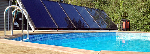 Come riscaldare una piscina con i pannelli solari i - Pannelli solari per piscina ...