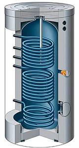 Che vantaggi da 39 un serbatoio di accumulo termico nell for Serbatoio di acqua calda in rame