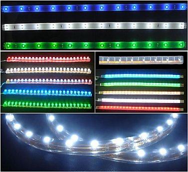 Come realizzare un impianto a led fai da te i vari tipi for Tipi di led