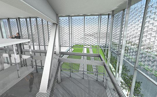 Casa moderna roma italy vetri fotovoltaici - Vetri fotovoltaici per finestre ...