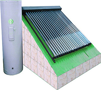 Gli impianti solari termici con tubi sottovuoto come sono for Come collegare pex pipe al rame