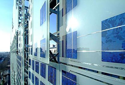 Il fotovoltaico integrato nelle facciate finestre e - Finestre con pannelli solari ...